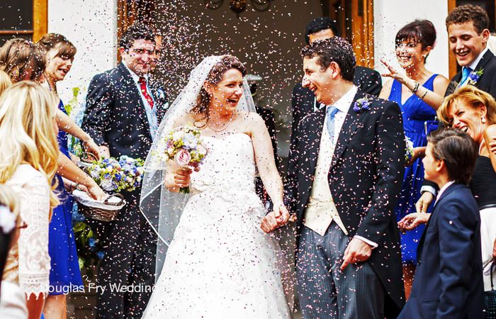 Bride and Groom Photographed at Gray's Inn London