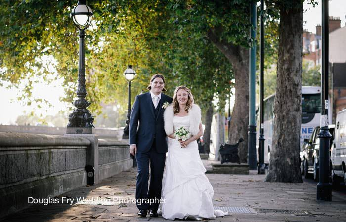 Wedding Photograph Couple in Chelsea, London
