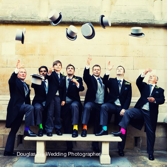 Wedding Photographer Inner Temple - Ushers with hats