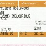 Inglorious Basterds - 35mm - ArcLight Cinemas - Movie Ticket - CINEMA 10