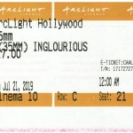 Inglorious Basterds - 35mm - ArcLight Cinemas - Movie Ticket - CINEMA 10