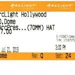 The Hateful Eight - 70mm - ArcLight Cinemas - Movie Ticket - CINERAMADOME