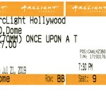 Once Upon a Time in... Hollywood - 70mm - ArcLight Cinemas - Movie Ticket - CINERAMADOME