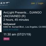 ArcLight Cinemas Presents – Django Unchained (screenshot)