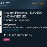 ArcLight Cinemas Presents - Django Unchained (screenshot)