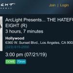 ArcLight Cinemas Presents - The Hateful Eight (screenshot)