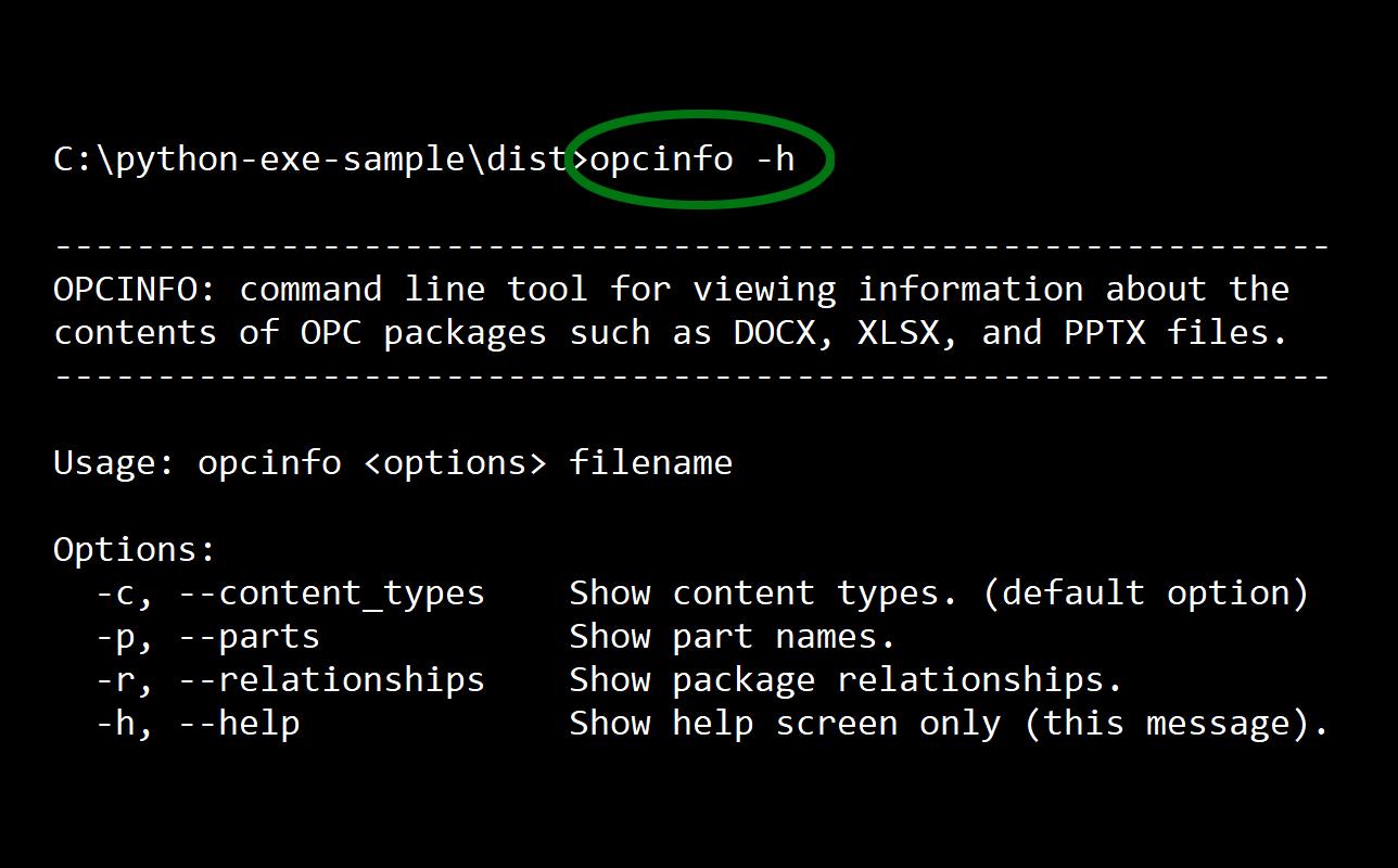 Building a Python EXE for Windows