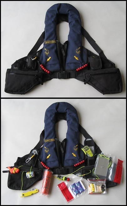 Doug Ritter Essentials Overwater Aviator Survival Vest
