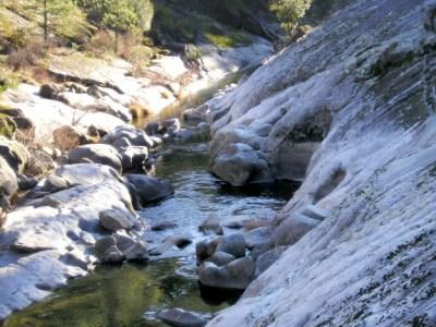 Downstream of Buck's Bar bridge