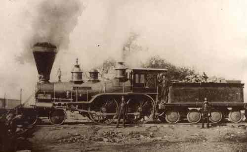 Sacramento Valley Railroad Locomotive, L..L Robinson