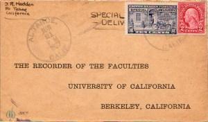 Al Tahoe Postmark