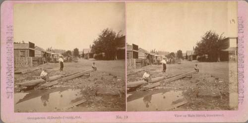 Stereo view, Greenwood - c. 1866