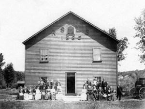 Rose Springs Literacy Society Building