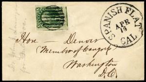 Spanish Flat 1855