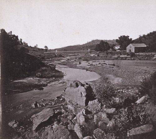 Bridge at Yeomet - 1850s