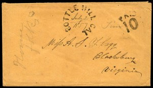 Bottle Hill 1857