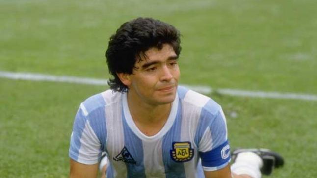 وفاة اللاعب دييغو مارادونا الارجنتيني أسطورة كرة القدم