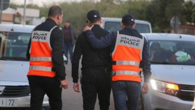 امن اكادير يوقف شابا عشرينيا بتهمة اهانة وسب موظفي الشرطة وعدم الامتثال