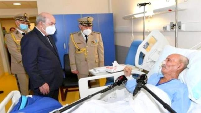 بعد رفض اسبانيا استقباله قصد العلاج ، الجزائر تنقل ابراهيم غالي الى كوبا