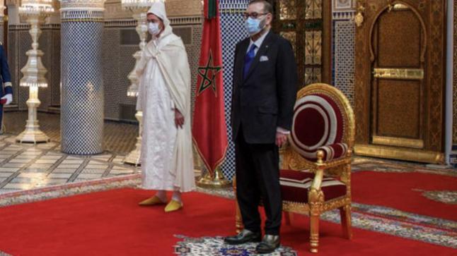 جلالة الملك محمد السادس يترأس مراسم تعيين أعضاء حكومة عزيز أخنوش