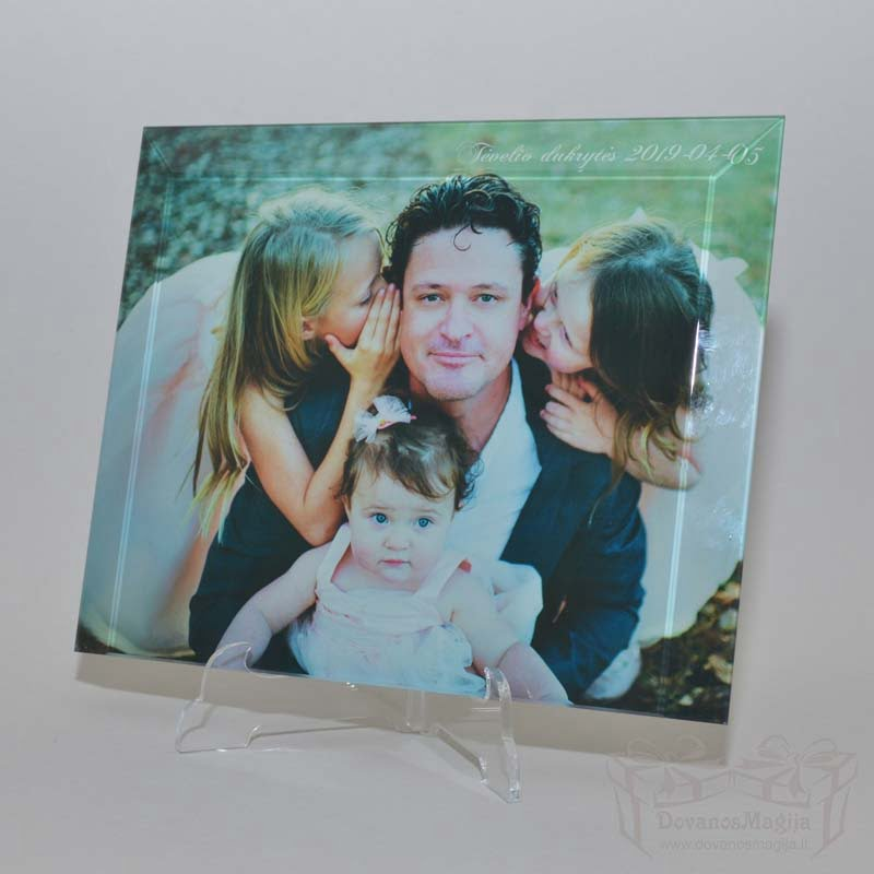 foto ant stiklo UV spausdinimas Nuotrauka stikle uv spauda