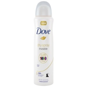 Dove Invisible Dry Spray Antiperspirant Deodorant Sheer Fresh 3.8 oz