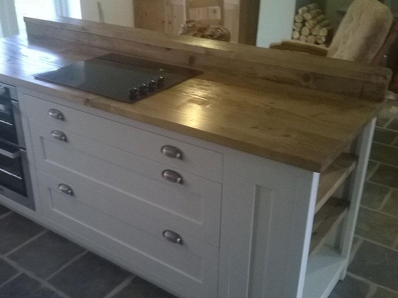 Reclaimed Scaffold Worktops Dove Furniture Amp Kitchens York