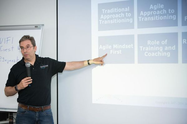 Ken Rubin Agile transition lessons