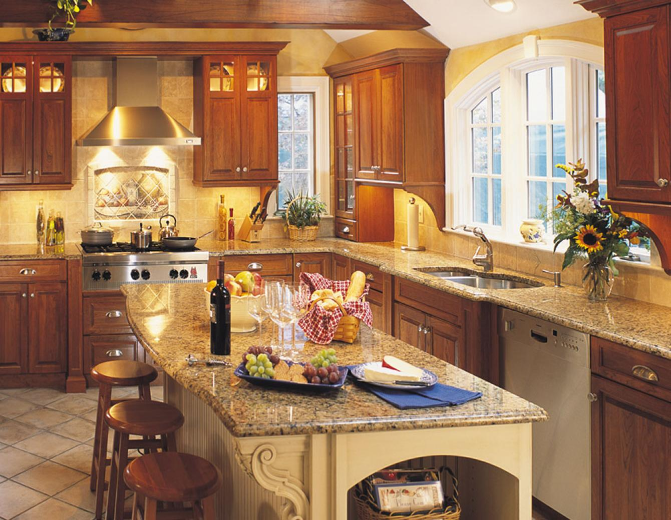 Traditional Kitchen Design Gallery | Dover Woods on Rustic:rkh3E0Gkuju= Farmhouse Kitchen Ideas  id=59418