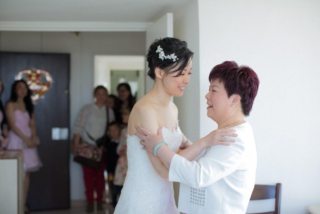 ma mère et moi le jour de mon mariage - anna chen life coach de vie