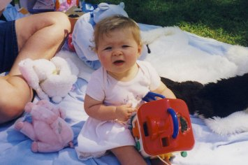 Hannah, August 2000