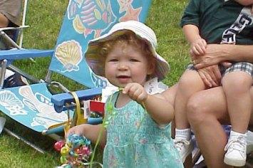 Hannah, August 2001