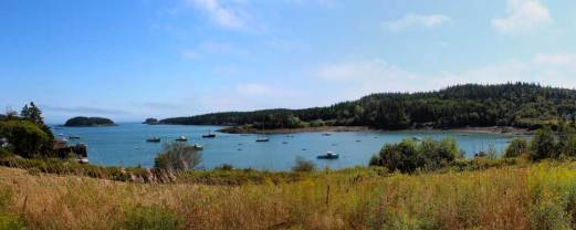 Passing through Cutler Harbor on the way to the hike