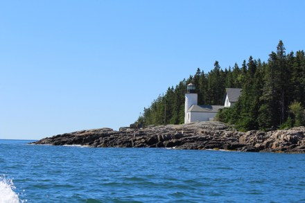 Narraguagus Light on Pond Island