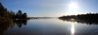 Long Pond panorama