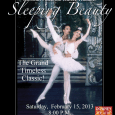 The Downey Civic Theatre presents the Russian National Ballet Theatre's performance of Sleeping Beauty, this Saturday February 15th.