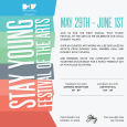 Stay Gallery is hosting it's first annual 'STAY YOUNG' Festival Of The Arts to celebrate our local student talent. Over 60 curated art works will be displayed by artists from Downey High, Warren High, and Downey Adult School. Exhibit opens on Thursday, May 29th from 6p – 9p ASB members invite the community to come […]
