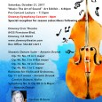 "The Downey Symphonic Society is pleased to present ""Czech Please!"" the fall concert for the Downey Symphony Orchestra, on Saturday October 21, 2017.  The evening begins with the opening of a new Downey Arts Coalition group art show, ""Music: The Art of Sound,"" doors opening at 6:30PM. A Pre-concert lecture with Music Director Sharon Lavery […]"