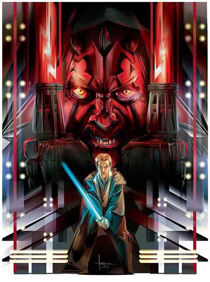 Star Wars Illustrations by Orlando Arocena