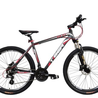 tiger hdr red suspension mountain bike