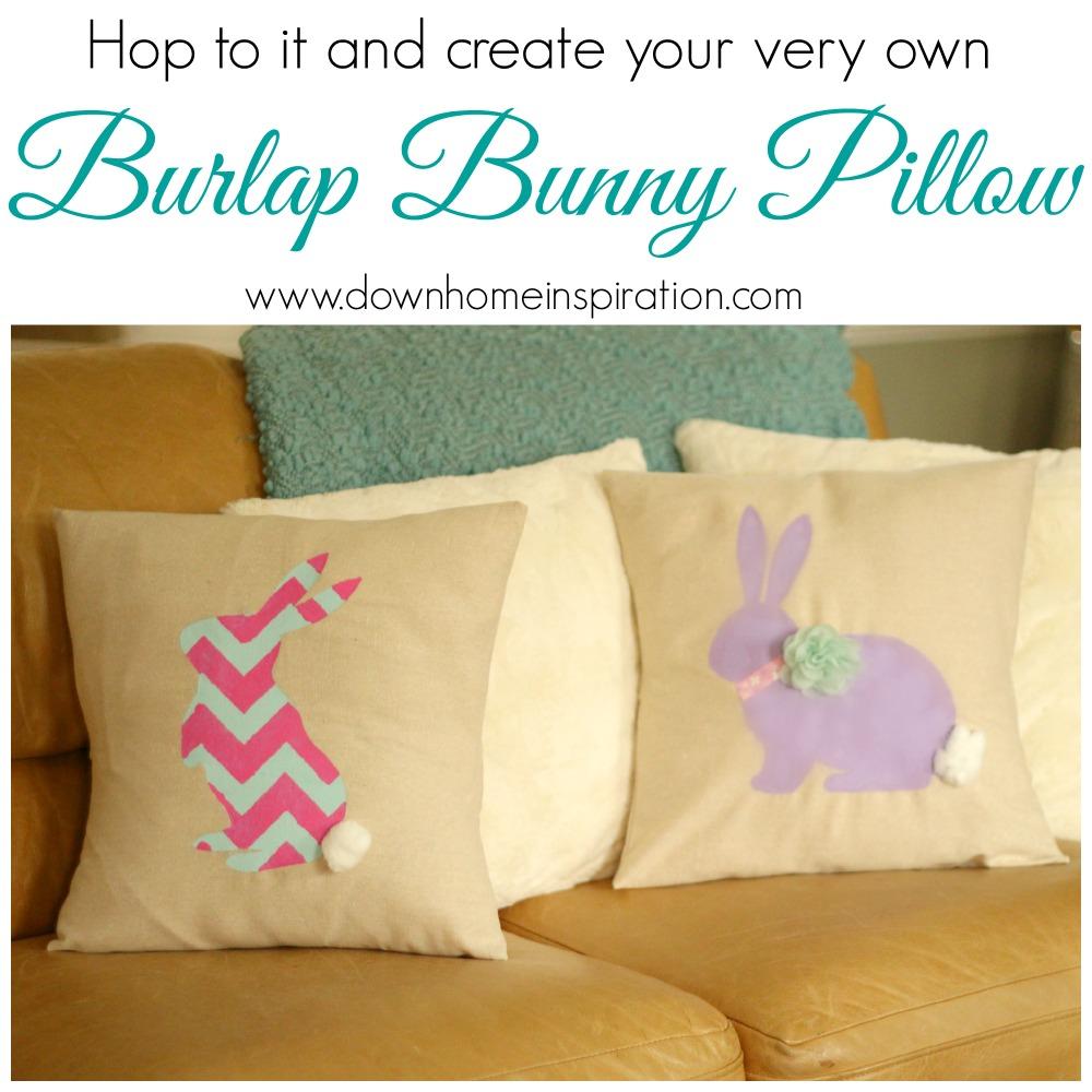 bunny pillow 1