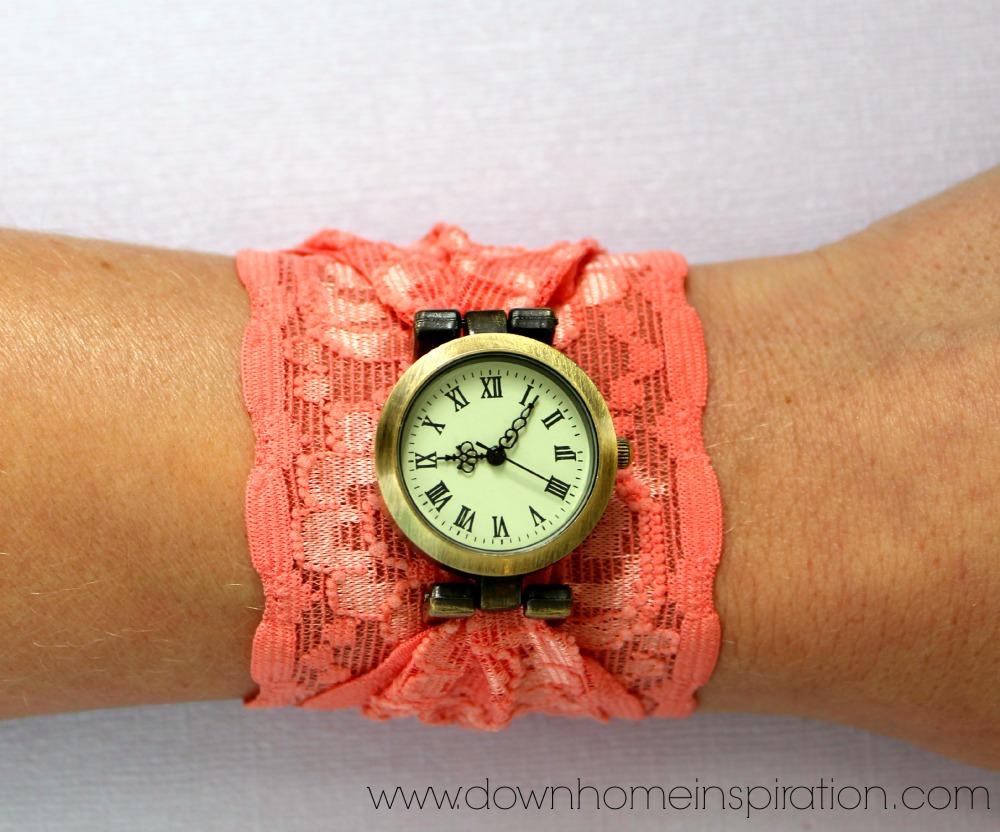DIY-Lace-Cuff-Watch-8