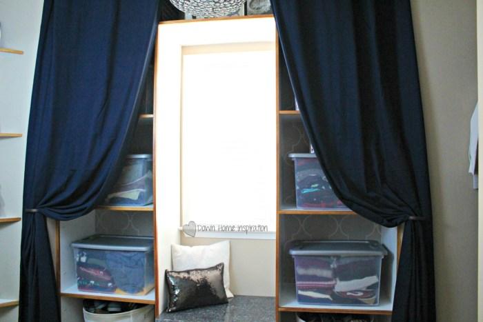 closet reveal