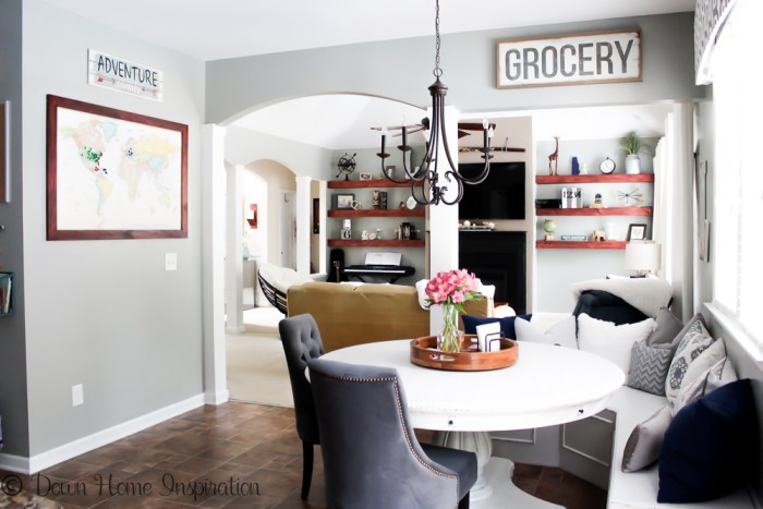 chalk paint kitchen table