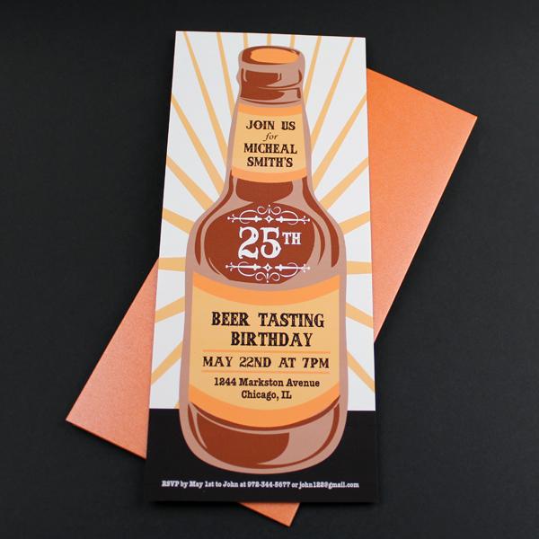 Beer Tasting Birthday Invitation Template Download Amp Print