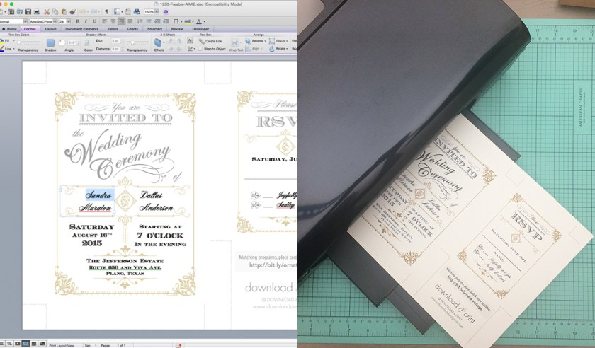 Wedding Invitation Template And Get Ideas How To Make Your With Nice Looking Appearance 2