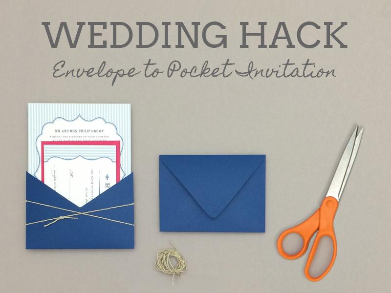 Wedding Envelope To Pocket Invitation Freebie Amber Rsvp In Seerer Blue Print