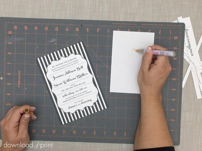 Diy Invitation Kits Print Your Own Designs