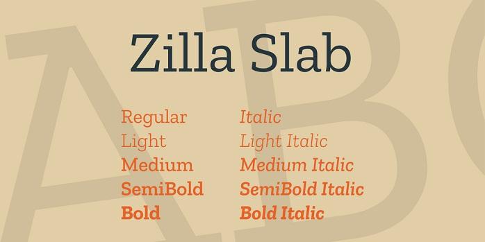 Zilla Slab