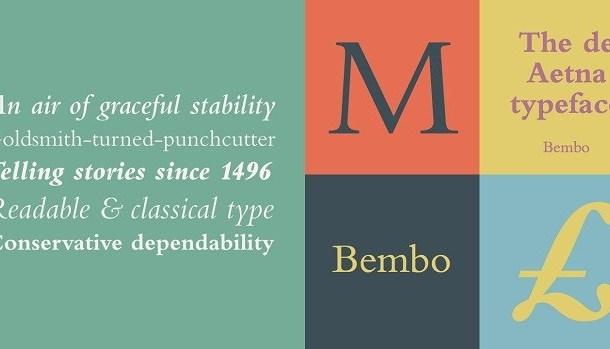 Bembo Font Free